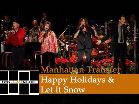 Manhattan Transfer - Christmas Is Coming