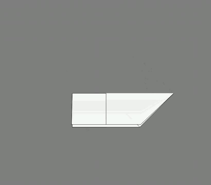 Оригами схема сборки лев