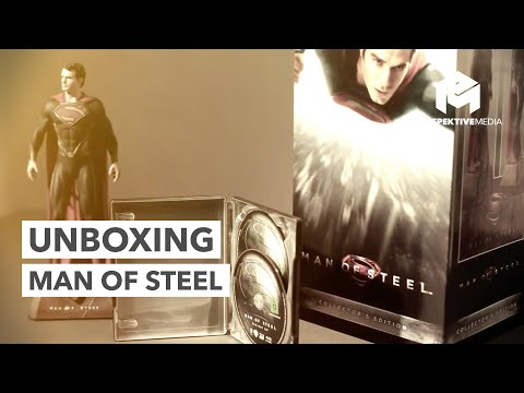 Man of Steel Ultimate Collector's Edition Unboxing