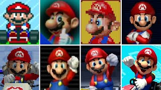 Evolution of All Characters in Mario Kart Games (1992-2017)