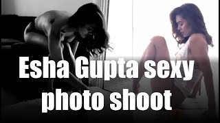 Esha Gupta shows off her curves in this sexy lingerie photo shoot