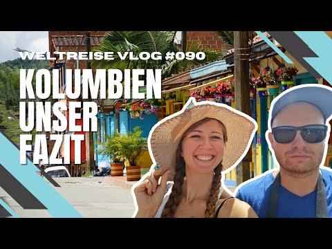 Lohnt sich eine Reise nach Kolumbien? Unser Fazit - Weltreise VLOG #90 4K