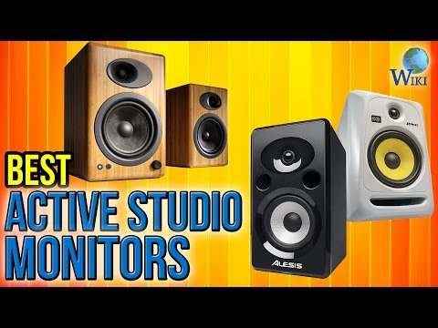 10 Best Active Studio Monitors 2017