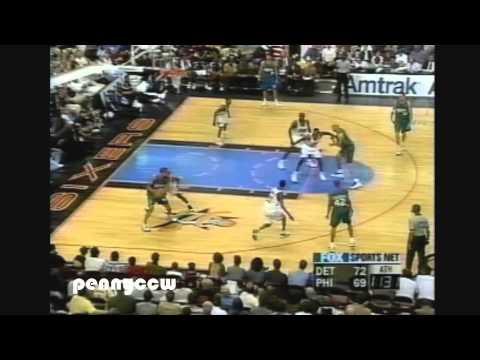 NBA Greatest Duels: Allen Iverson vs. Grant Hill (1999) *AI 1st scoring title *Emotional