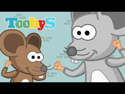 Toobys - Canciones Infantiles - Hickory Dickory Dock video