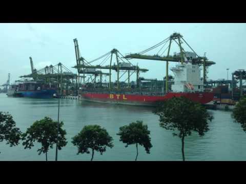 Port of Singapore, June 2015