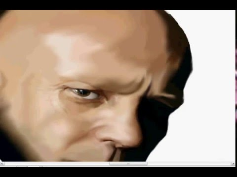 jason statham_speed painting