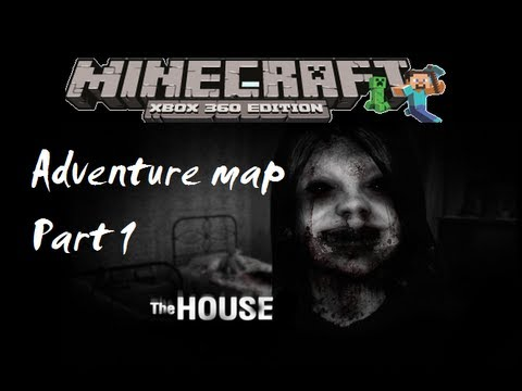 MineCraft xbox 360 edition: The House adventure map - Part 1