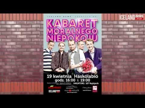Kabaret Moralnego Niepokoju zaprasza na występ w Islandii!