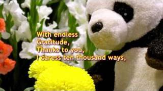 Endless Gratitude :) - (mother's Day Special) - May 8, 2011