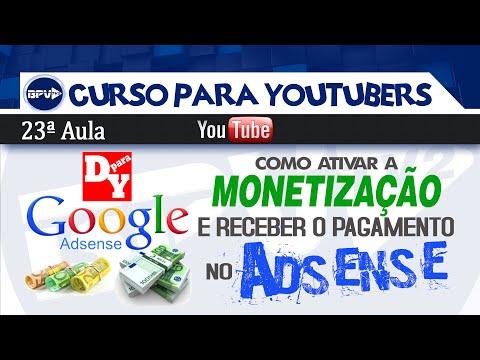 Como ativar a monetização no Youtube e receber o pagamento no Adsense
