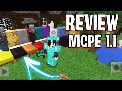 REVIEW COMPLETA DO MINECRAFT POCKET EDITION 1.1 TUDO QUE MUDOU