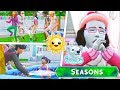 SHE'S FREEZING TO DEATH ON THE FIRST DAY OF SUMMER!🌞⛄ // THE SIMS 4 | SEASONS #7