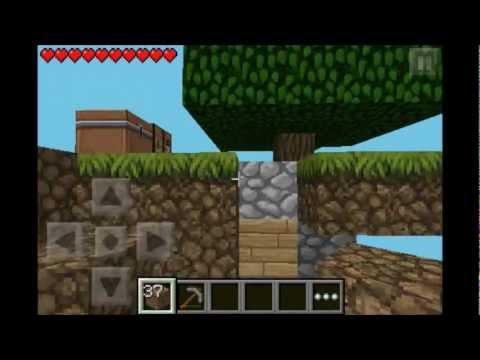 Minecraft: PE   Skyblock   Episode: 1 Falling, Exploding, Waterfalls & Cheering