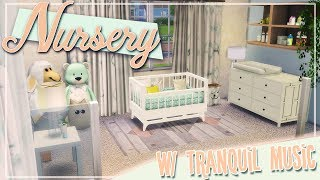 Nursey with Tranquil Music | The Sims 4 CC Room Build