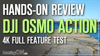 DJI Osmo Action - Detailed Hands-On 4K Feature Test Review - GoPro Competitor?