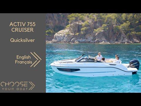 ACTIV 755 CRUISER by Quicksilver: Guided Tour Video in English (sous-titré en Français)