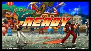 The King of Fighters 97 Benimaru Nikaido Desperation Moves