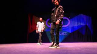 Les Twins ¦ FRONTROW ¦ World of Dance 2014/ Братья близнецы