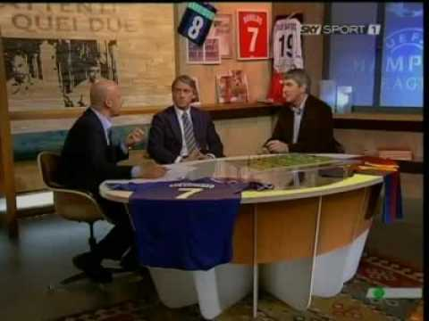 Roberto Mancini ospite di Vialli e Rossi
