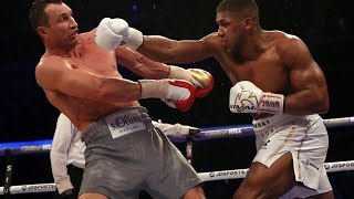 Joshua vs Klitschko K.O Highlights