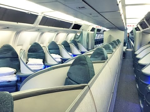 Air Canada International Business Class: Rio de Janeiro - Toronto