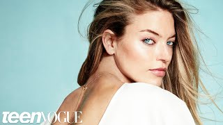 Victoria's Secret Model Martha Hunt Takes On Scoliosis | Teen Vogue