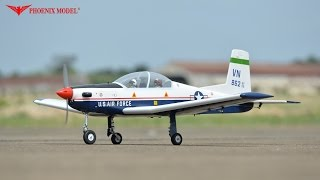T-6 TEXAN II GP/EP SCALE 1:7 ARF .46-.55 PH128 PHOENIXMODEL