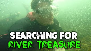 SEARCHING FOR RIVER TREASURE! | DALLMYD