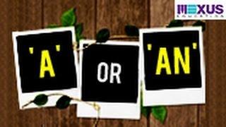 'A' or 'An'