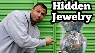 FOUND HIDDEN JEWELRY I Bought Abandoned Storage Unit Locker Opening Mystery Boxes Storage Wars