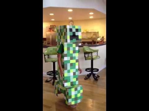 Creeper Costume Test