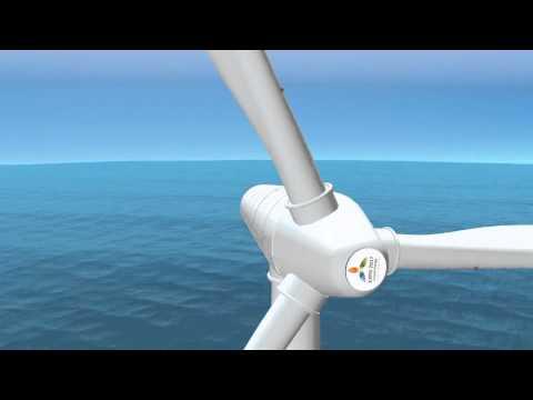 Graduation project, KBTU, EXPO 2017 - Wind Turbine HD