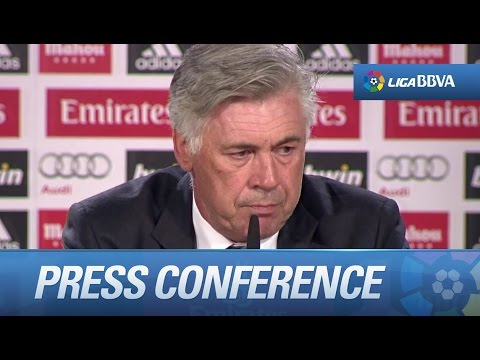 Press Conference Ancelotti after Real Madrid (5-0) Athletic Club - HD