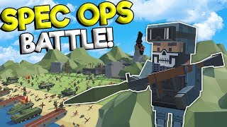 SPEC OPS BATTLE & FIGHTER JET BATTLE! - Tiny Town VR War Gameplay - Oculus VR Game