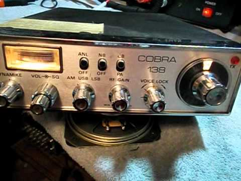 Cobra 138 OLD SCHOOL version 23 CH mobile CB