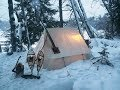 foto Ice Fishing and Camping with a SnowDog & Snowtrekker in the Adirondacks