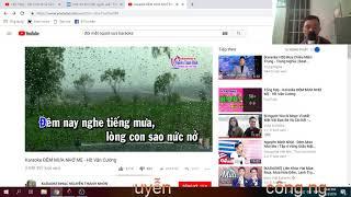 Đêm mưa nhớ mẹ cove Công Nguyễn