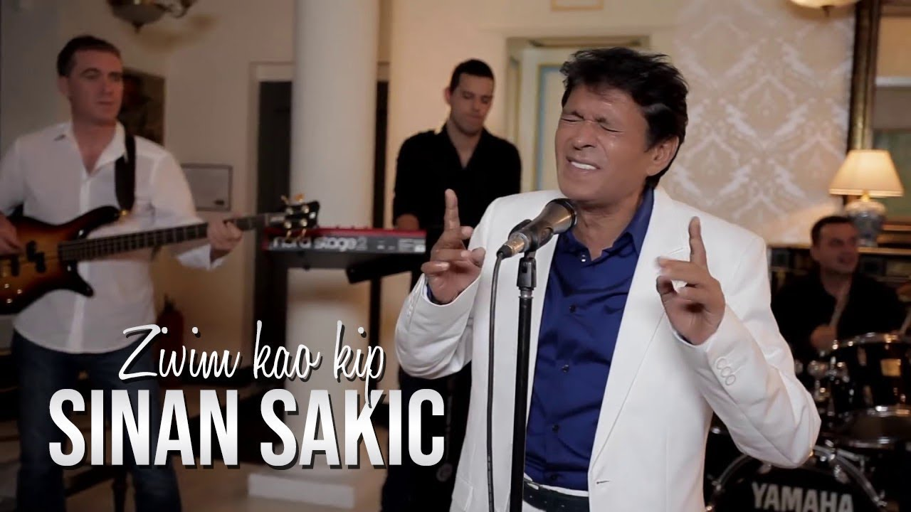 Sinan Sakic - Zivim kao kip (Official Video 2014) HD