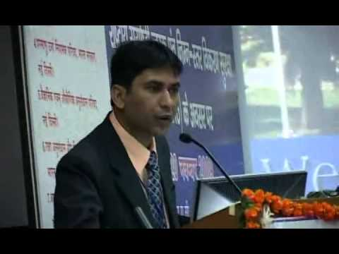 Vote of Thanks by Dr. R.G. Sonkawade,Scientist :Inaugural Function of National Conference