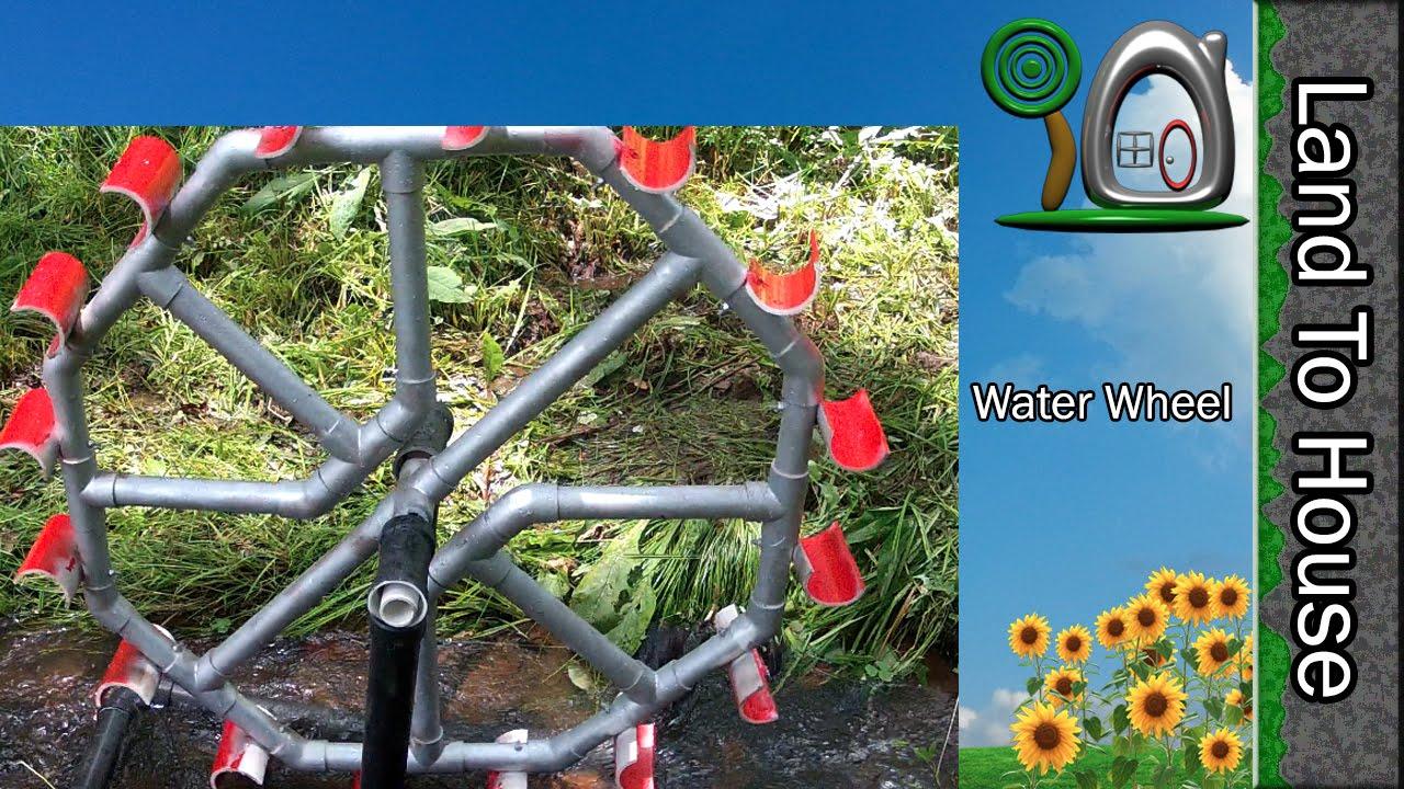 Water Wheel Pump Plans