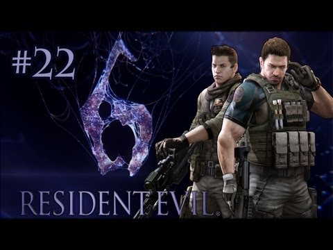 Let's Co-op - Resident Evil 6: Blow What Now? (Part 22) Chris - Professional