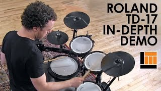 Roland TD-17 V-Drum Kit [In-Depth Demonstration]