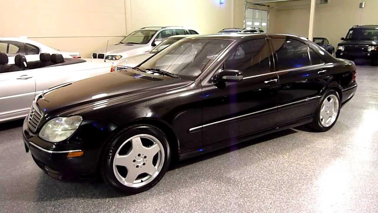 2000 mercedes benz s430 4dr sedan sport package sold 2126 youtube