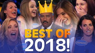 2018's GREATEST FAMILY FEUD MOMENTS! | Family Feud