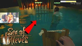 Drowning A Kid In The Brig! Sea Of Thieves Funny Moments!