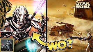 Star Wars: Wo war GENERAL GRIEVOUS während der Schlacht von Geonosis? [Legends]