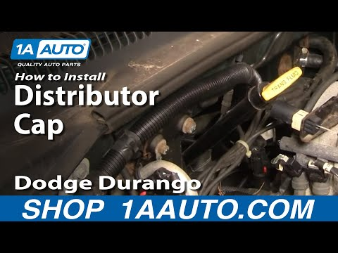 How To Install Replace Distributor Cap Rotor Dodge Dakota Durango RAM 92-03 1AAuto.com