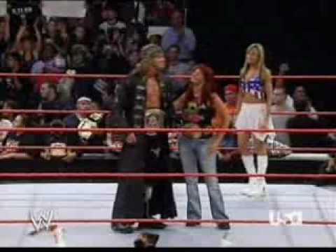 Edge Wwe Champion With Lita Women's Champion Entrance video