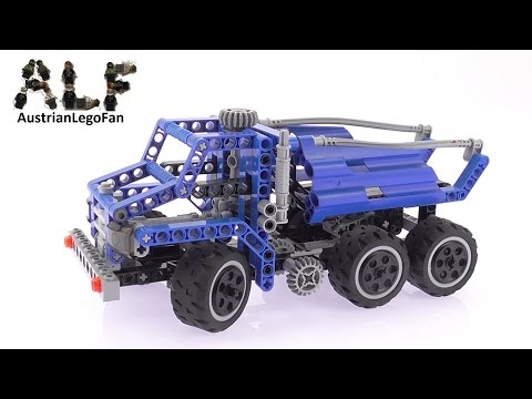 Lego Technic 8415 Dump Truck - Lego Speed Build Review